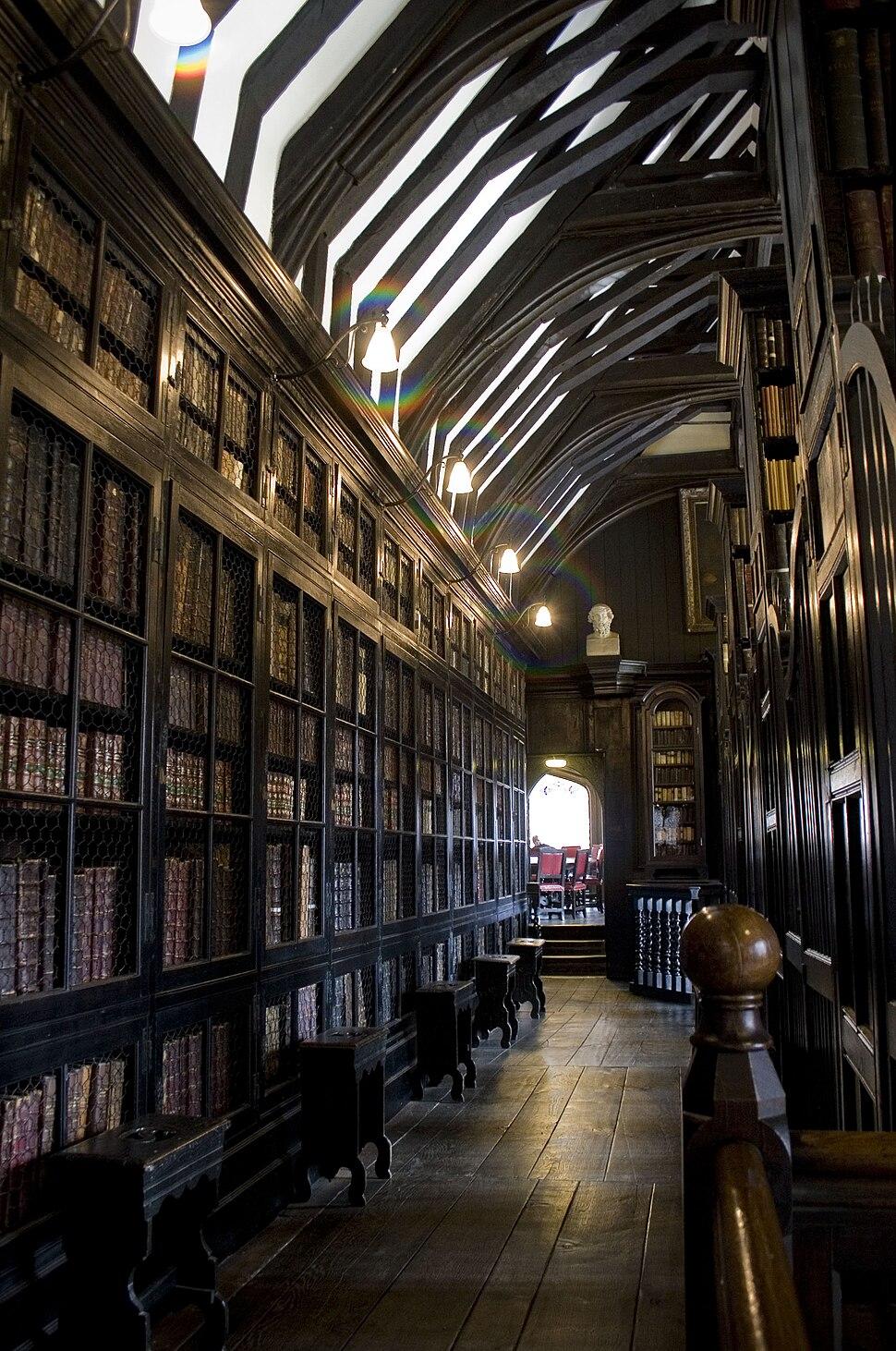 Chethams library interior