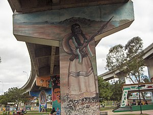 Chicano Park - Image: Chicano Park Mural