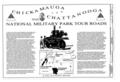 Chickamauga National Military Park Tour Roads, Fort Oglethorpe, Catoosa County, GA HAER GA,24-FOOG.V,1- (sheet 1 of 15).png