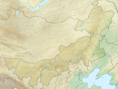 Location map China Inner Mongolia