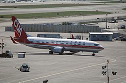 Boeing 737-800 der China United Airlines