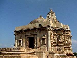 Chittorgarh district - Jain temple at Kirtistambha