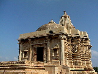 Chittorgarh district - Jain temple at Kirtistambha