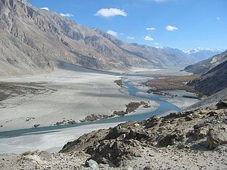 Valley in Gilgit-Baltistan & Ladakh, Pakistan & India