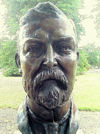 Prime Ministers Avenue - Image: Chris Watson bust