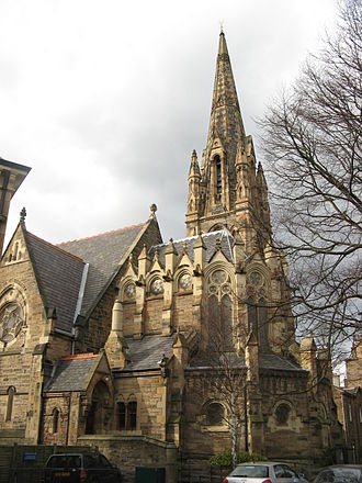 Hippolyte Blanc - Christ Church Episcopal, Morningside (1875-78), Blanc's first competition-winning design