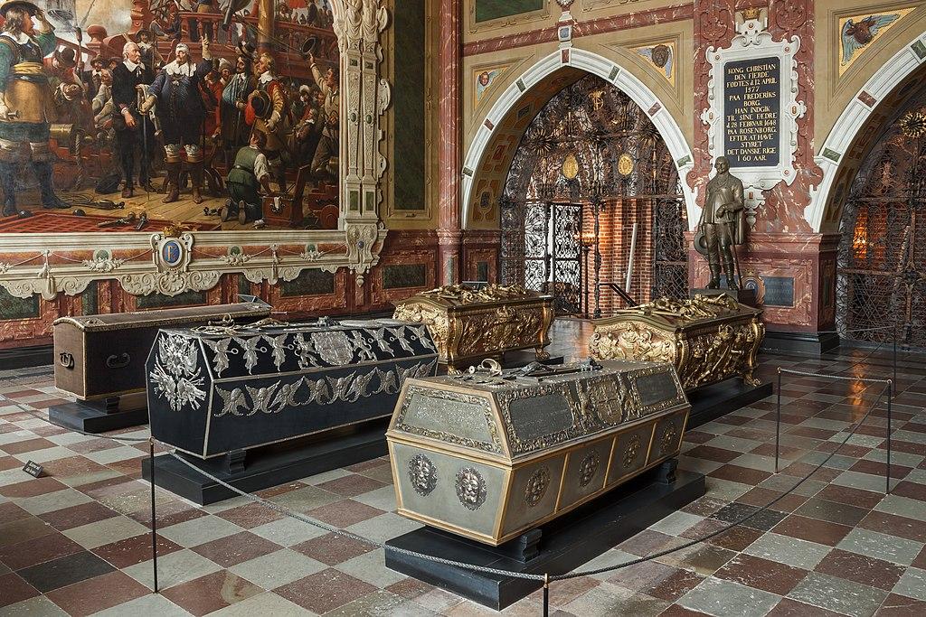 Chapelle funéraire de la cathédrale de Roskilde au Danemark - Photo de Slaunger