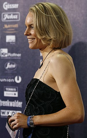 Christiane Soeder - Christiane Soeder at the  2008 Austrian Sportspersonality of the year awards