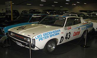 Leo Geoghegan - Image: Chrysler VH Valiant Charger Geoghegan