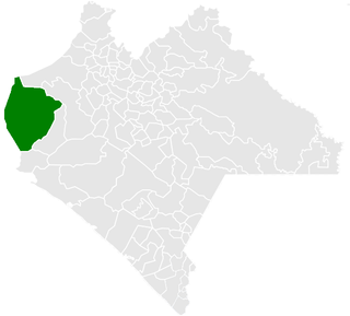 Cintalapa Municipality in Chiapas, Mexico