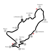 Illustration du circuit de Charade.