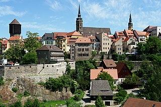 Bautzen Place in Saxony, Germany
