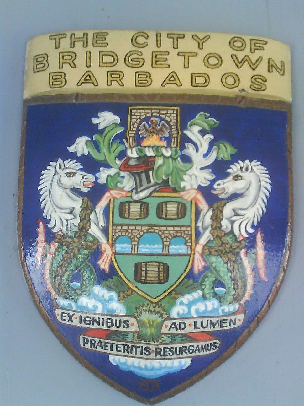 City of Bridgetown, Barbados Armorial bearing