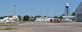 Clarks, Nebraska Green from US30 1.JPG