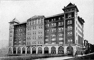 Clarksburg, West Virginia - Waldo Hotel, 1918