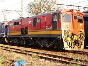 South African Class 18E, Series 2 - Image: Class 18E 18 751