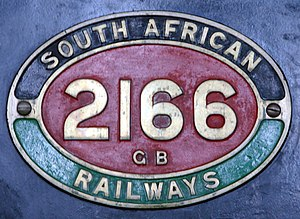 South African Class GB 2-6-2+2-6-2 - Image: Class GB 2166 (2 6 2+2 6 2) IDR