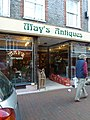 Cliffe High Street- May's Antiques - geograph.org.uk - 2711022.jpg
