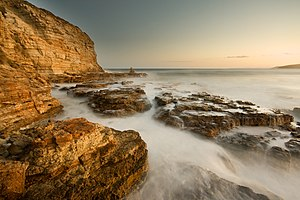 Seascape - A seascape photograph at Clifton Beach, South Arm, Tasmania, Australia