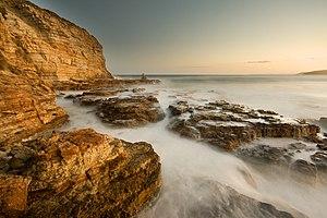 Clifton Beach, Tasmania - Rocks near the beach