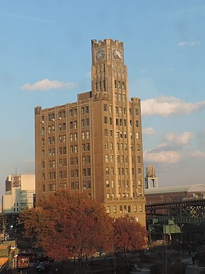 Chase Manhattan Bank Building - Image: Clock tower 29 27 41st Ave, Queens Plaza jeh