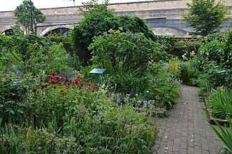 Geffrye Museum - Image: Cmglee London Geffrye Museum herb garden