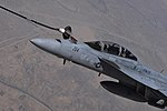 Coalition forces refuel over Iraq between airstrikes against ISIL 150702-F-HA566-617.jpg