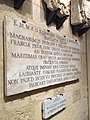 Coat-of-arms and inscriptions at War Museum at St Elmo 17.jpg