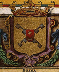 Coat of arms of the legitimate Kingdom of Bosnia.png