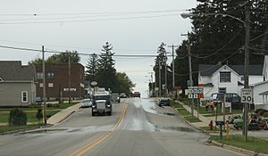 Cobb, Wisconsin - Downtown Cobb on US 18