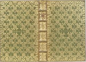 T. J. Cobden-Sanderson - A book binding by Cobden-Sanderson