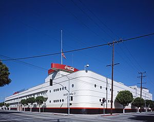 Robert V. Derrah - Coca-Cola Building (Los Angeles) (1939), an example of Streamline Moderne architecture