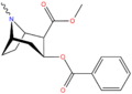 Cocaine structure.png