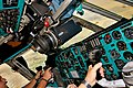 Cockpit in Badr Airlines Ilyushin Il-76TD.jpg