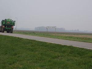 Weijerswold - Entering Weijerswold