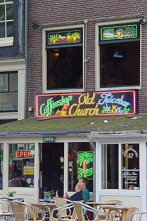Coffeeshop (Netherlands) - Coffeeshop in Amsterdam, Netherlands