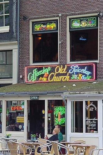 Coffeeshop (Netherlands) - Coffeeshop in Amsterdam, Netherlands