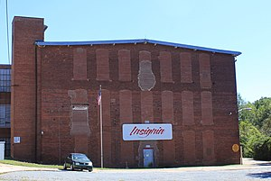 National Register of Historic Places listings in Cabarrus County, North Carolina - Image: Coleman Franklin Cannon Mill