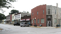 Downtown Colfax, Iowa