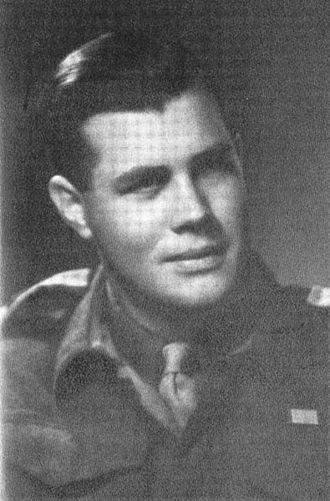 Colin Eglin - Eglin during World War II