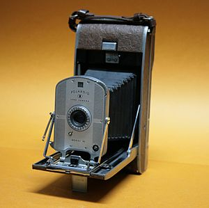 Instant camera - Polaroid Model 95, the company's first instant camera introduced in 1948