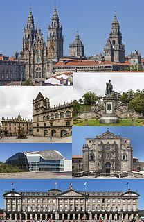 Santiago de Compostela City and Municipality in Galicia, Spain