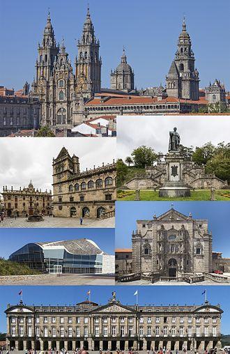 Santiago de Compostela -  Santiago de Compostela, a UNESCO World Heritage Site