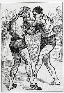 Collar and elbow wrestling match.jpg