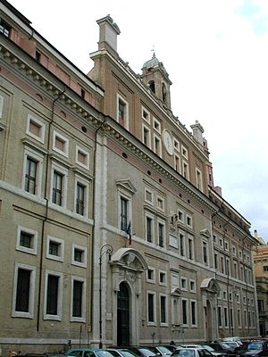 Roman Colleges - The original Roman College, now Ennio Quirino Visconti Liceo Ginnasio
