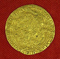 Collezione di william currie 18 noble inglese di edoardo IV, primo regno, 1461-1470.JPG