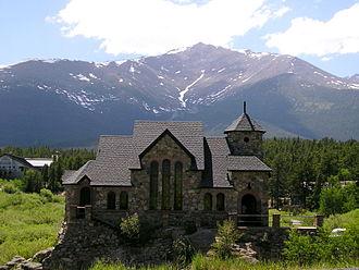 Peak to Peak Highway - Image: Colorado Rocky Mtn Church