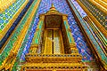 Colorful details of a temple wall in Grand Palace Bangkok.jpg