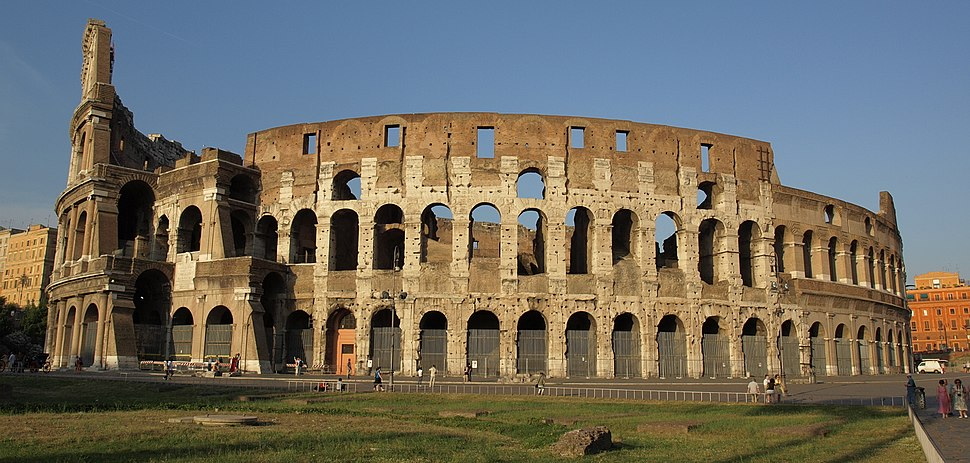 Colosseum exterior, inner and outer wall AvL