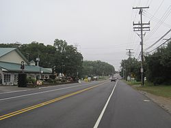 Center of Colts Neck's business district at Route 34 and CR 537